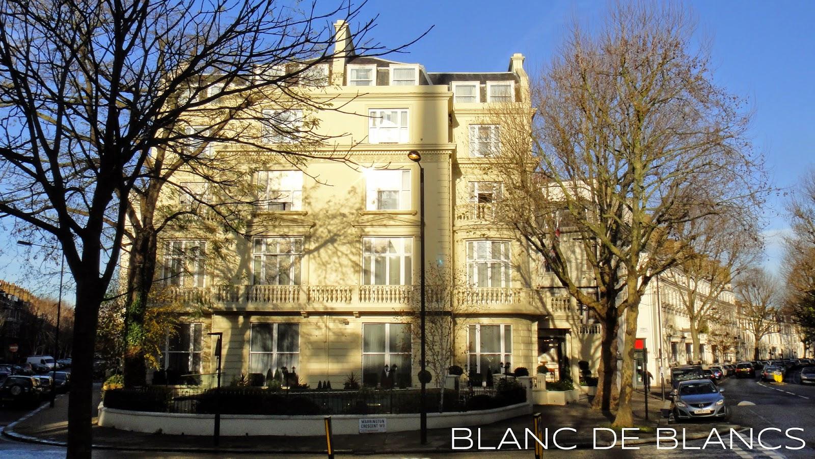 The Colonnade, London - www.blancdeblancs.fi