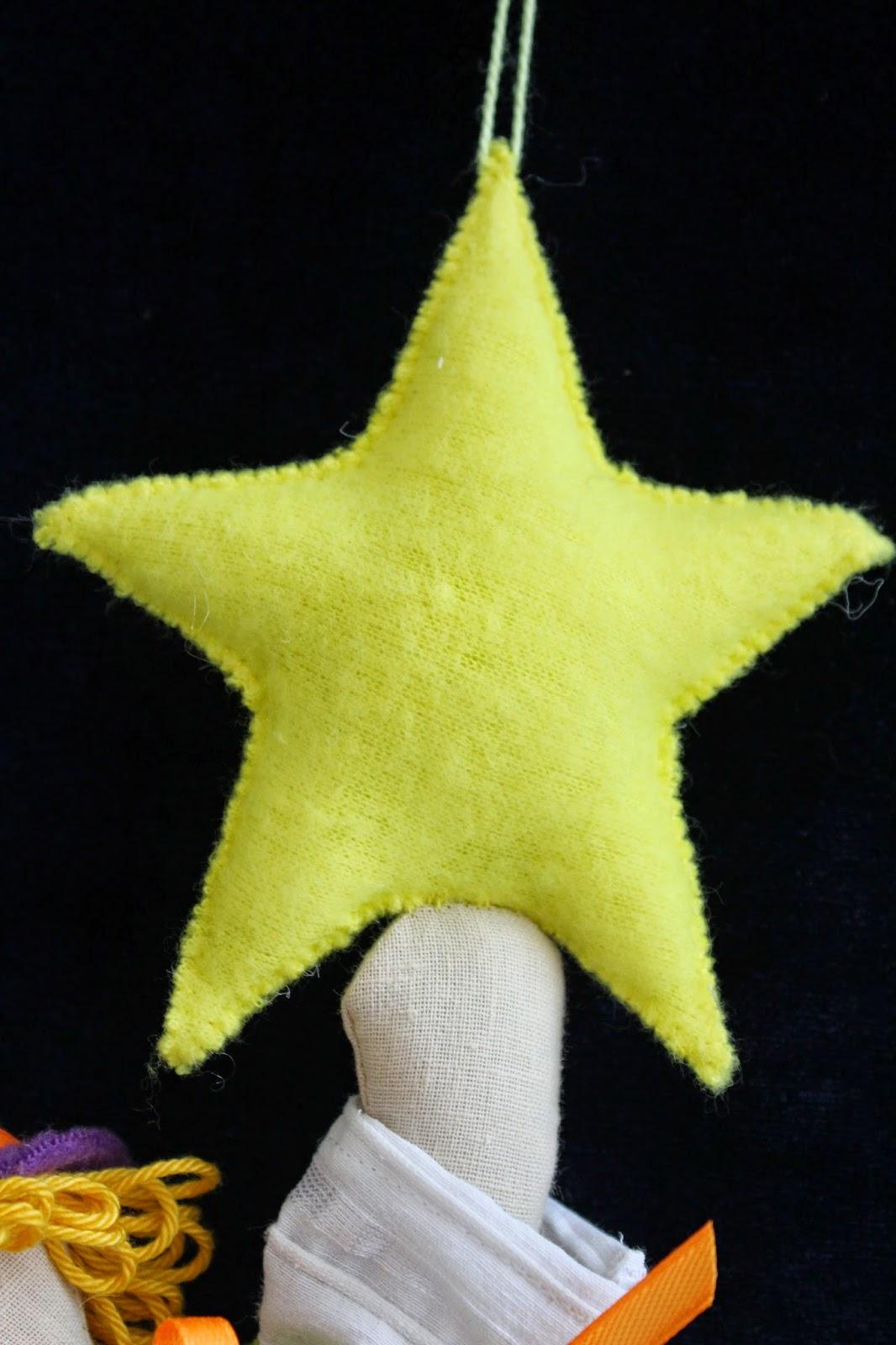 звезды, эльф, гирлянда