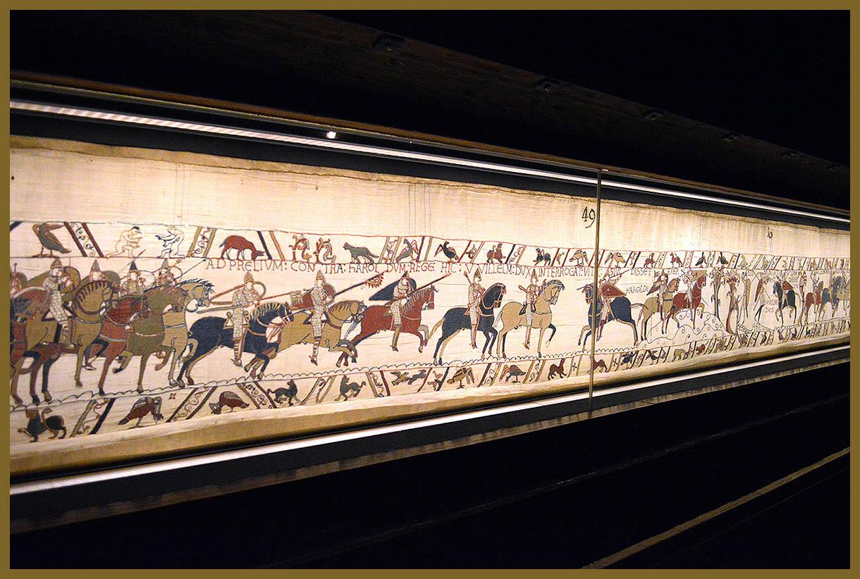 Domvs pvcelae visita virtual el tapiz de bayeux una - Qu est ce que la tapisserie de bayeux ...