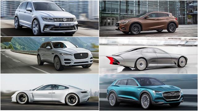 2015 Frankfurt auto show debuts