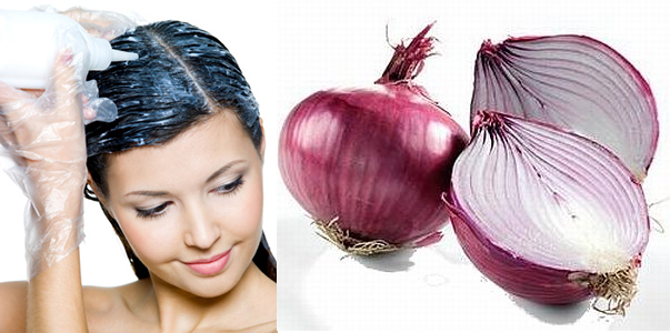 how to grow hair with onion