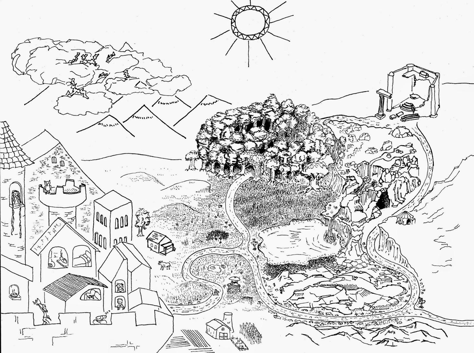 On a Children's Quest, A Starter 5e Adventure.