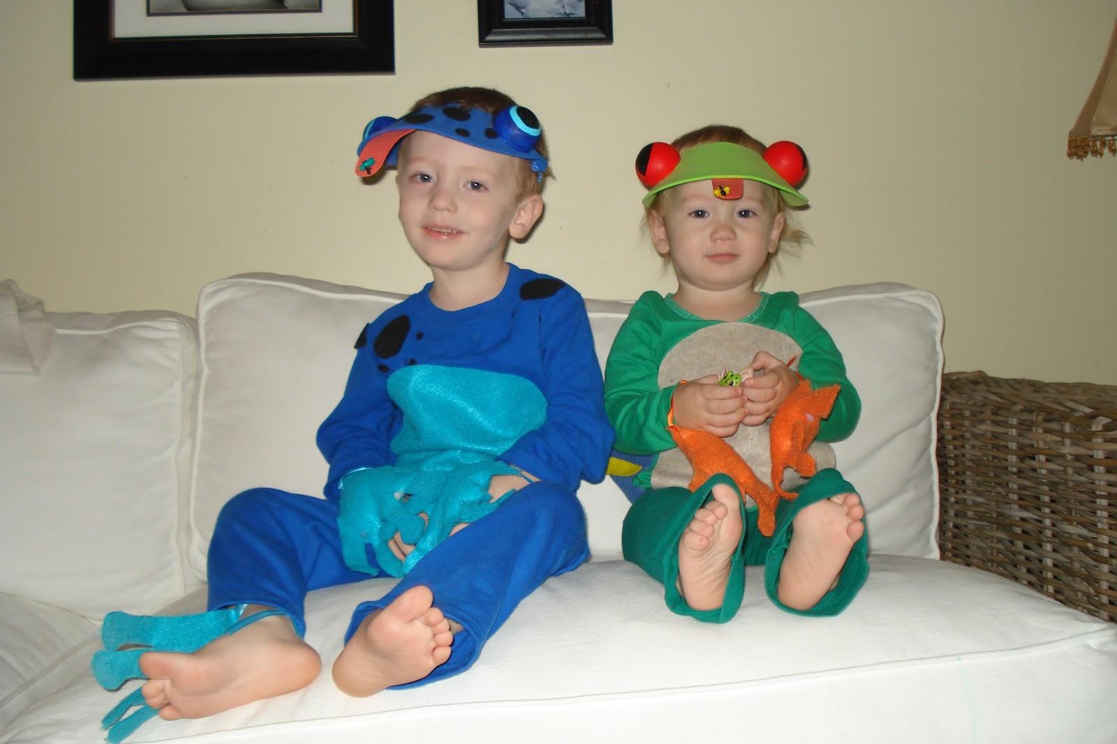 how to make a tadpole costume