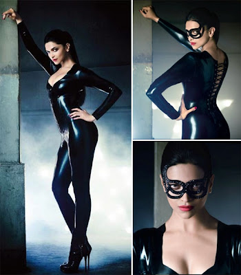 Deepika Padukone as cat woman