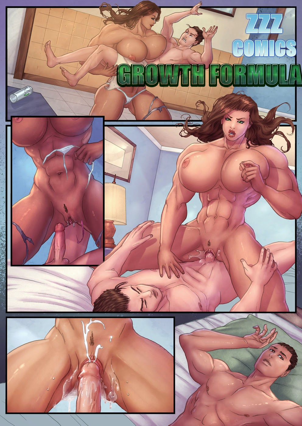 Can find Muscle giantess growth sex comics realize, what