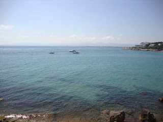 Boats in a crystal sea water - Tarragona