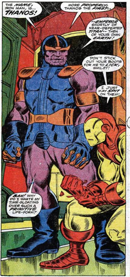 bronze age babies marvel firsts the terrible titan thanos