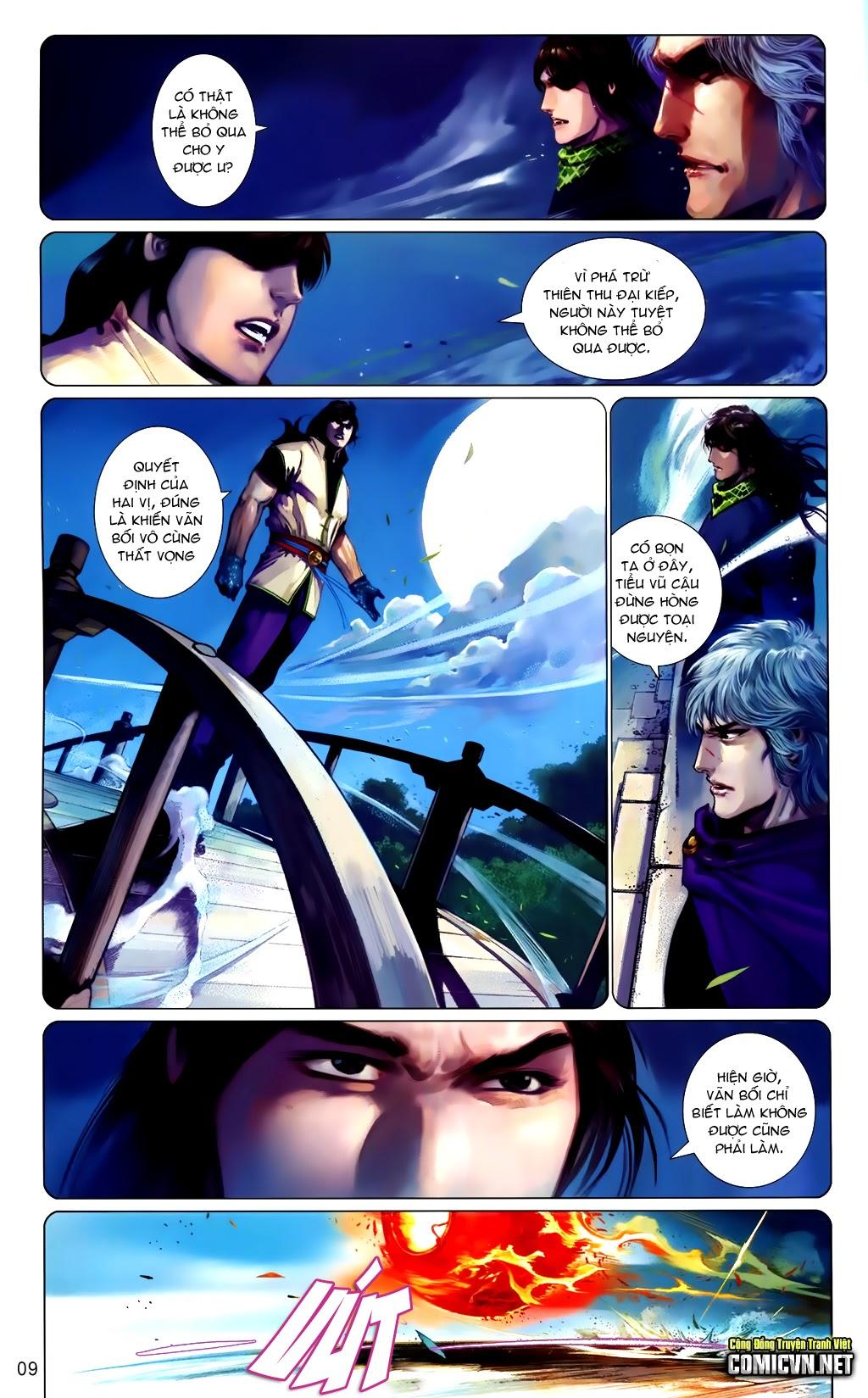 Phong Vân Chap 663 - Trang 9
