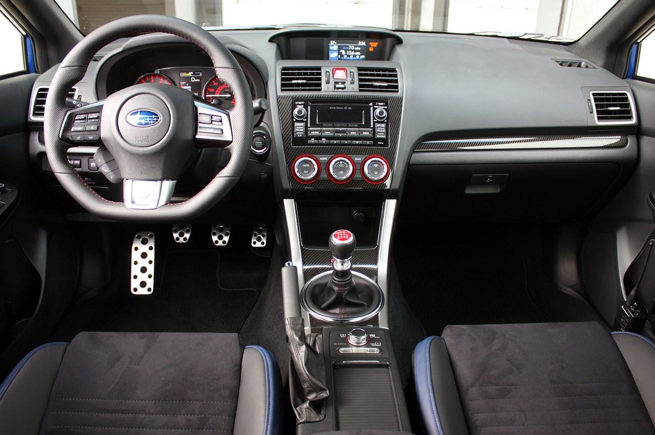 2015 Subaru Wrx Sti First Drive