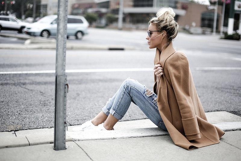 Модное вдохновение: Бежевое пальто