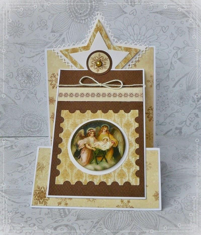 kartka świąteczna religijna