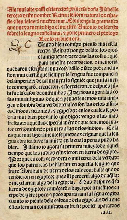Latin American And Iberian Studies 331332 Antonio De Nebrija