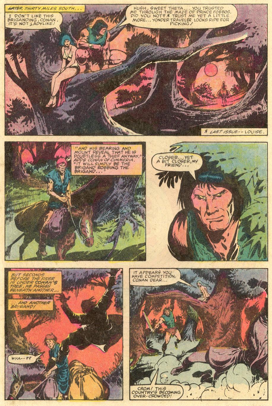 Conan the Barbarian (1970) Issue #143 #155 - English 5