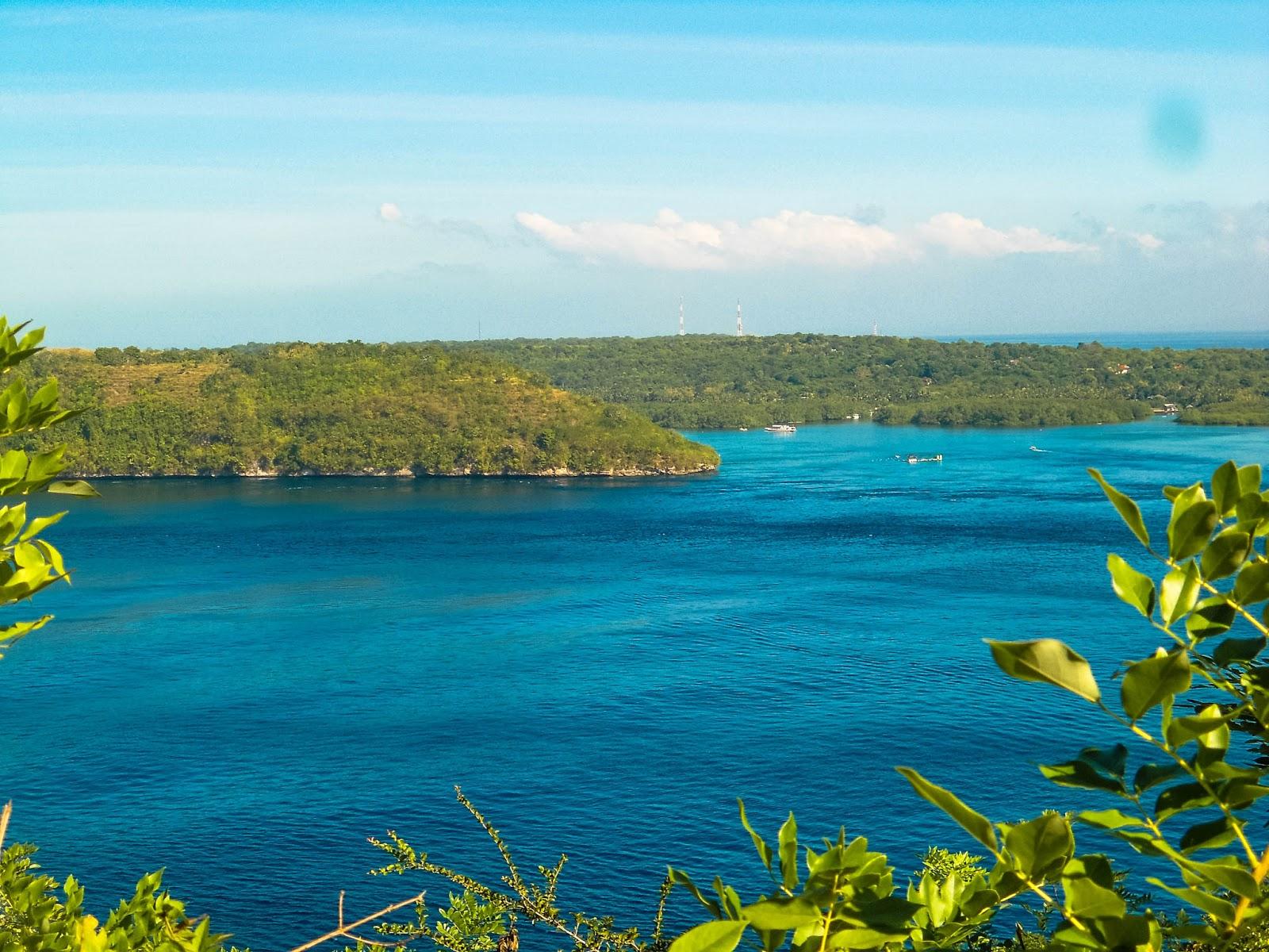 View Ceningan lokasi Tanah Gamat Nusa Penida