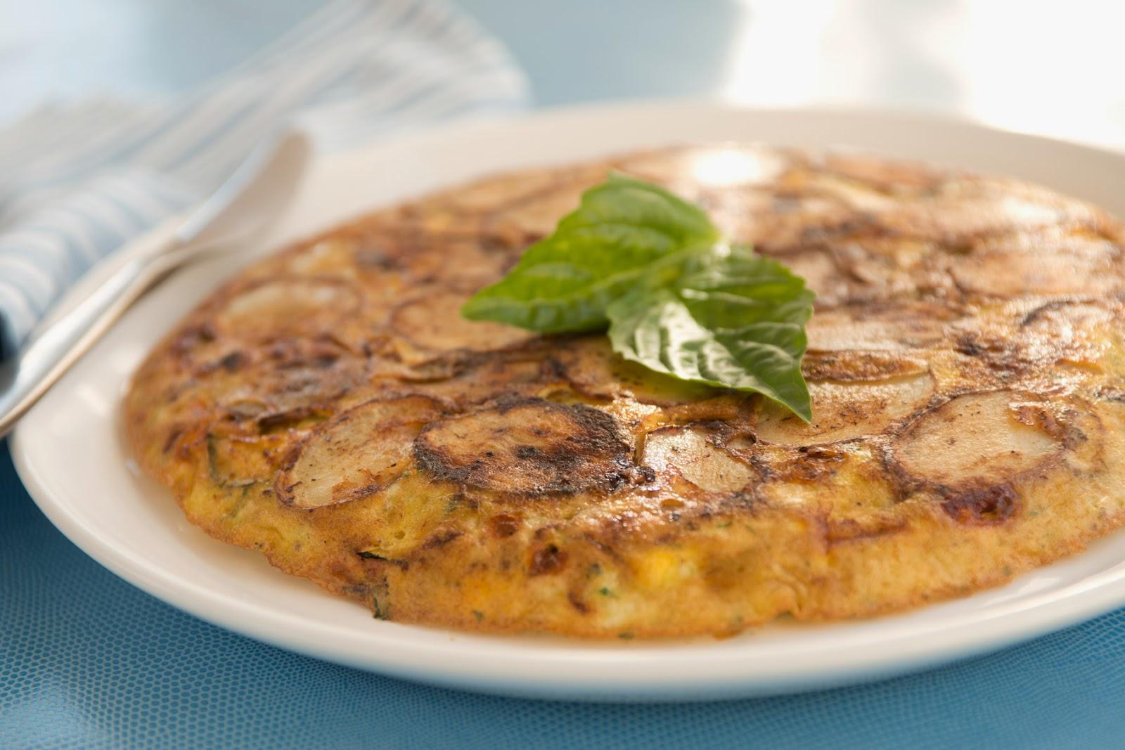 Zucchini-Potato Frittata Recipe — Dishmaps