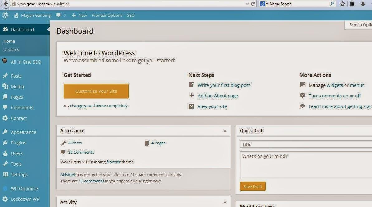 Cara Mudah Membuat Website