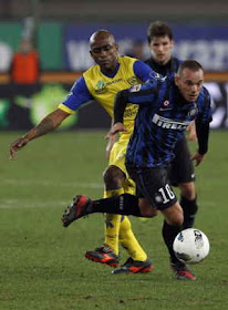 CHIEVO VS INTER MILAN 2-0 YOUTUBE