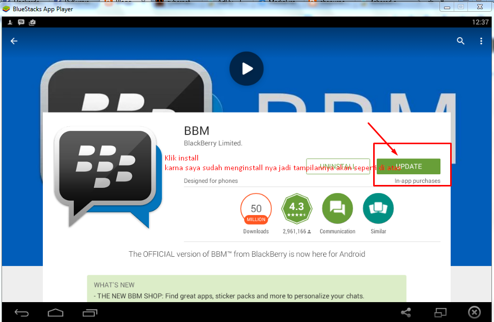 Download BBM Untuk PC dan Cara Install