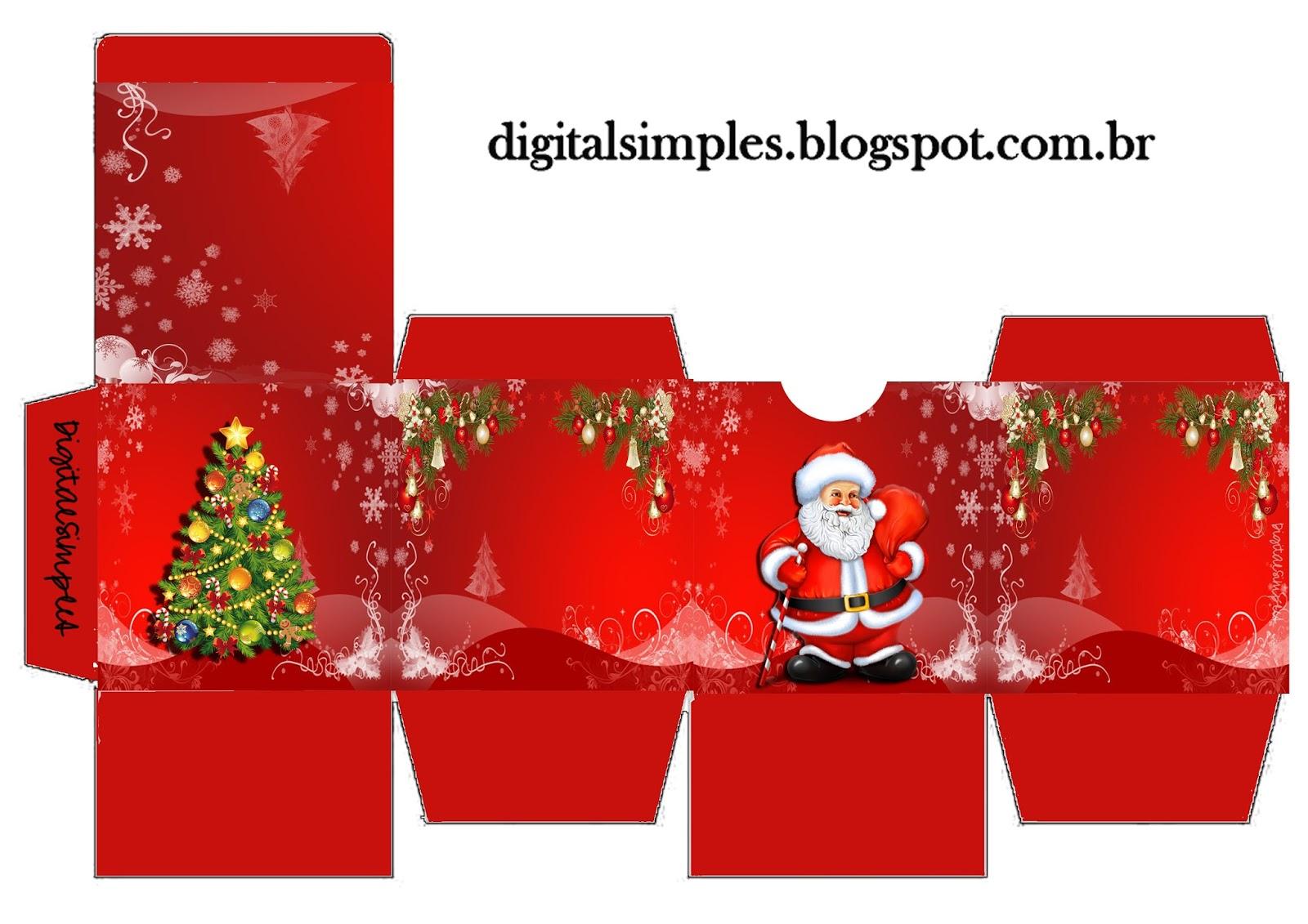 Caixa De Bis Personalizada Natale Mais Caixas Convites Digitais