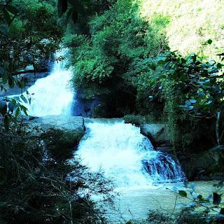 Cascata do Paraíso, no distrito de Santo  Antônio do Ferromeco, em Carlos Barbosa.