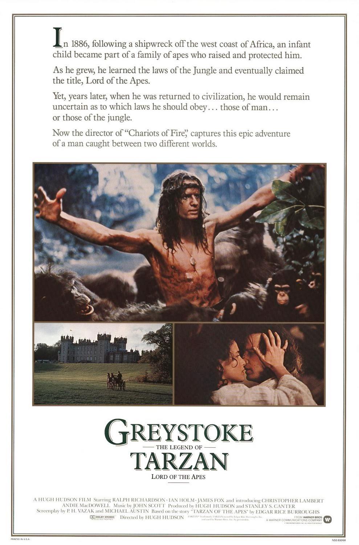 Greystoke, la leyenda de Tarzán (1984)