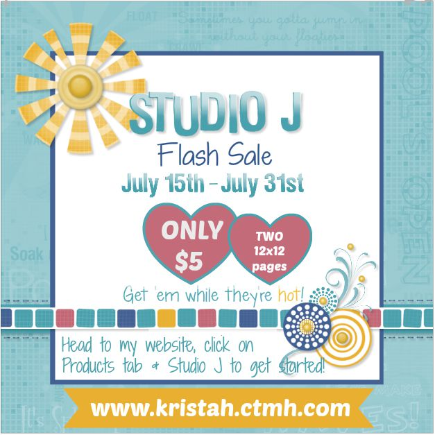 Studio J FLASH $5 per layout sale!!! :)