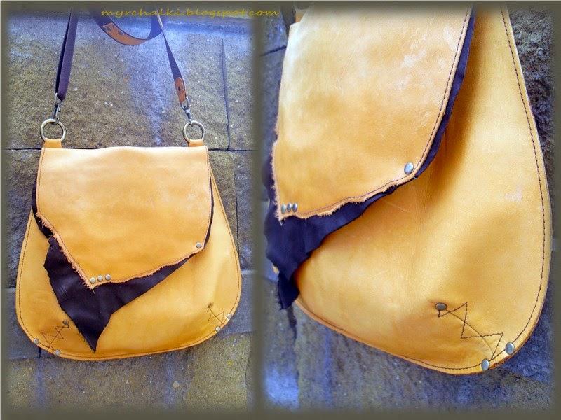 сумка ручной работы из кожи
