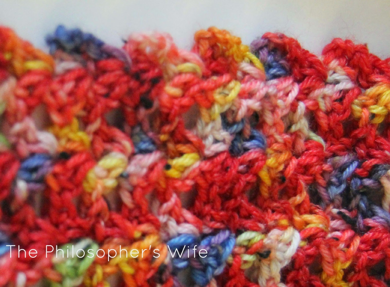The Philosophers Wife A Crochet Pattern The Snowman Scarf Using