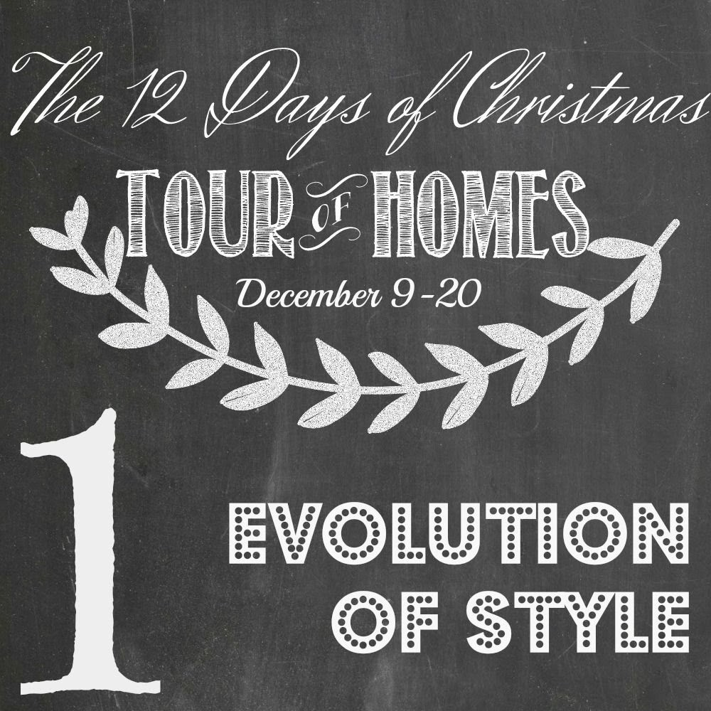 Day 1 12 days of christmas holiday tour of homes
