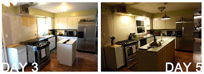 Kitchen Renovation Island