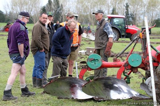 Takapau Ploughing Match at Majella, a property in Speedy Rd, Takapau, Central Hawke's Bay. photograph