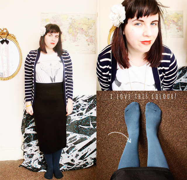 laura redburn outfit post collage