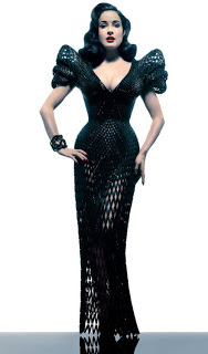 World first fully-articulated 3D-printed dress
