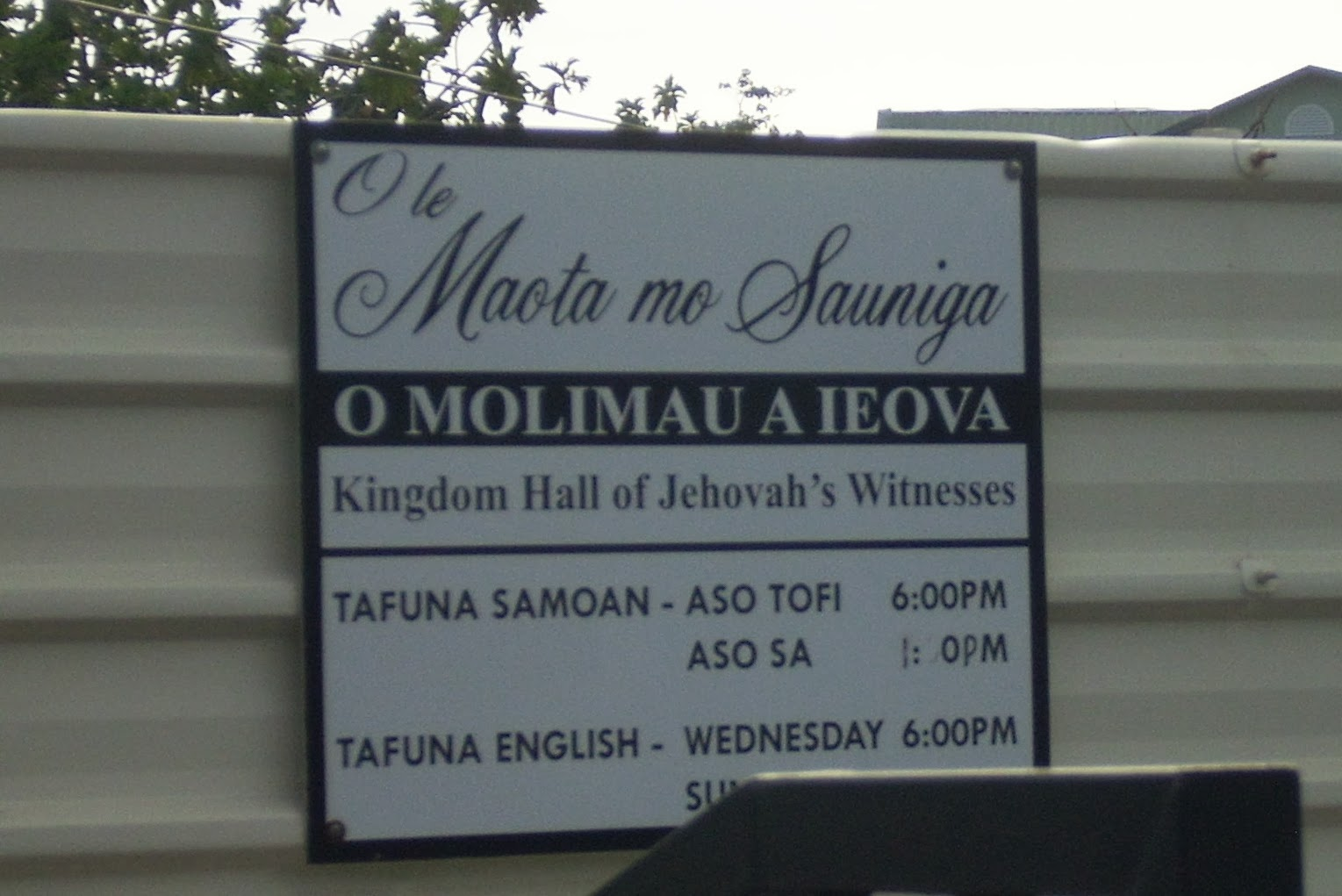 Better with age coming of age in american samoa american samoa s motto is muamua le atua let god be first ieova is samoan for gods name jehovah m4hsunfo
