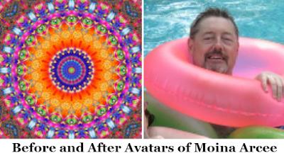 Moina Arcee on InfoBarrel (Old Avatar and New Avatar)