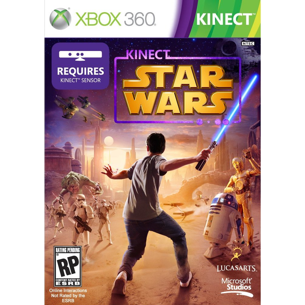 XBox 360's Star Wars Kinect Videogame Delayed