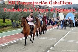 XII CONCENTRACIÓN CABALLISTAS Y TRASLADO DE LA VIRGEN