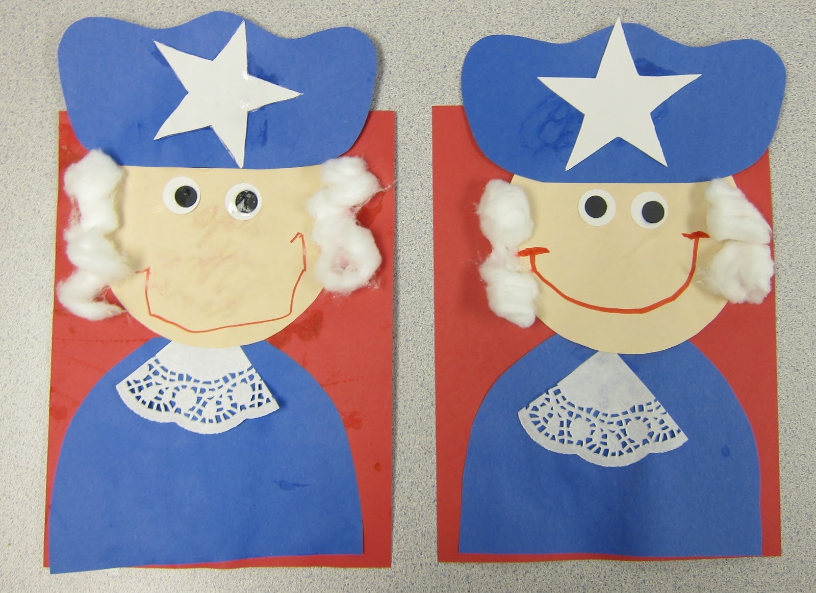 Mrs karen 39 s preschool ideas our country for Preschool crafts for february