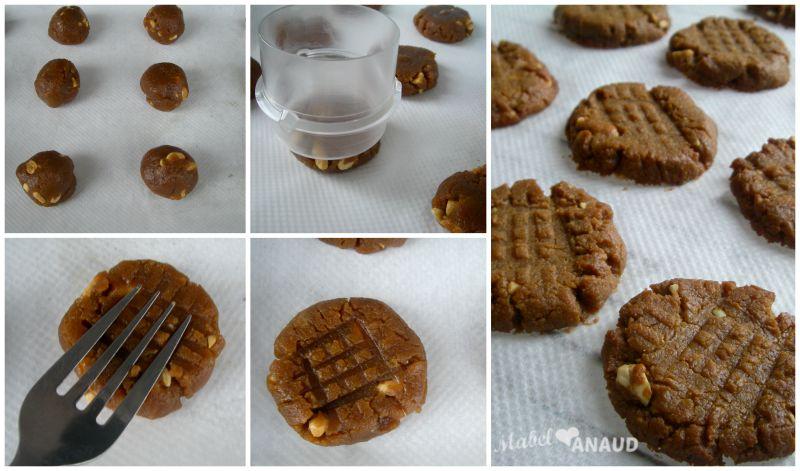 Galletas de manteca de cacahuete sin grasa