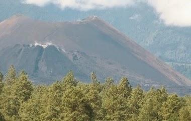 Volcán Paricutín (fotografía propiedad de Sectur Michoacán)