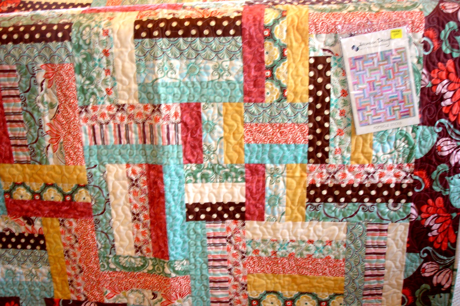 Inman Quilt Cottage Popsicle Sticks Berry Sweet Bags And Dogwood