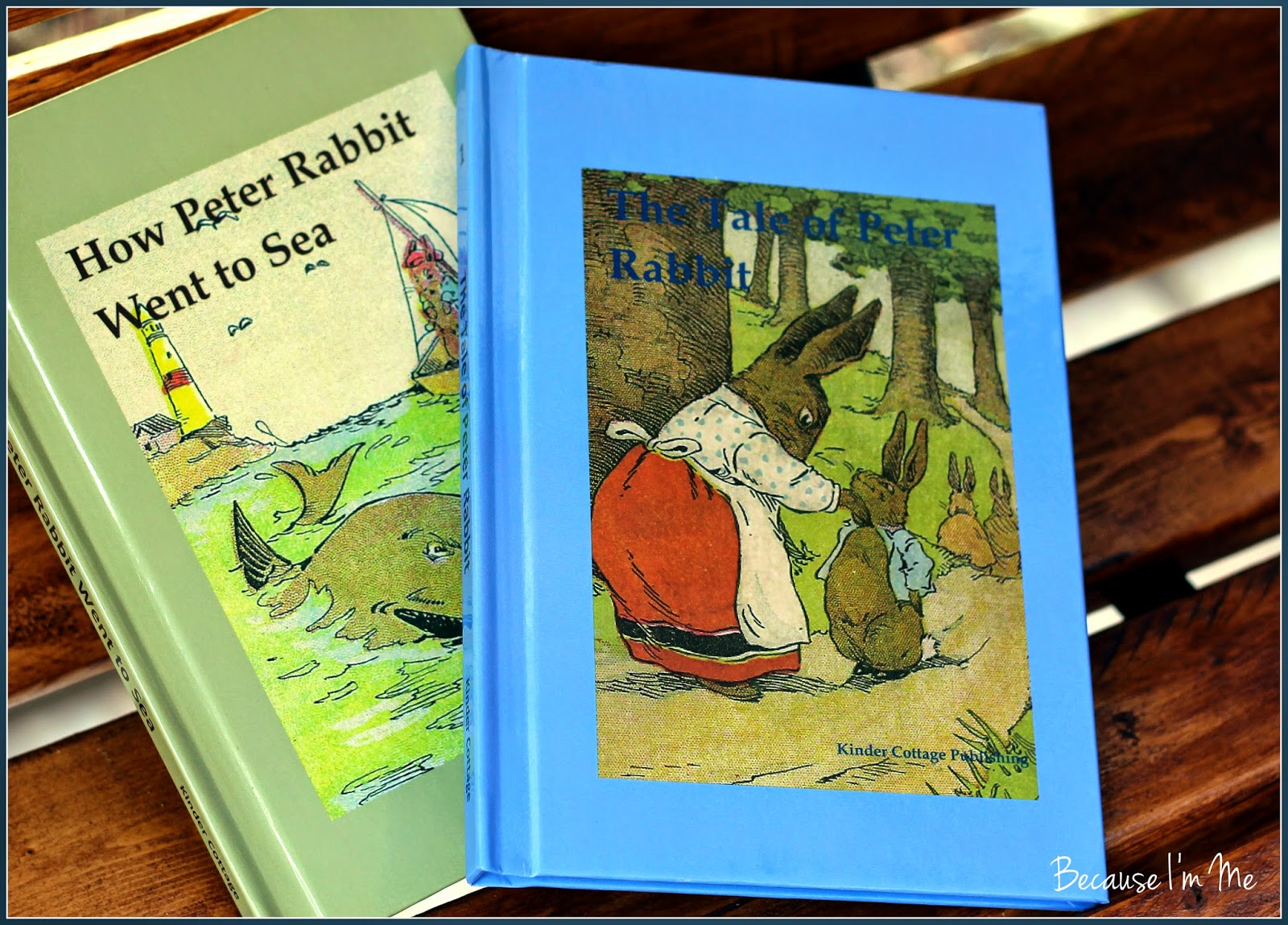 Because I'm Me Peter Rabbit review, ages 3-9, read aloud