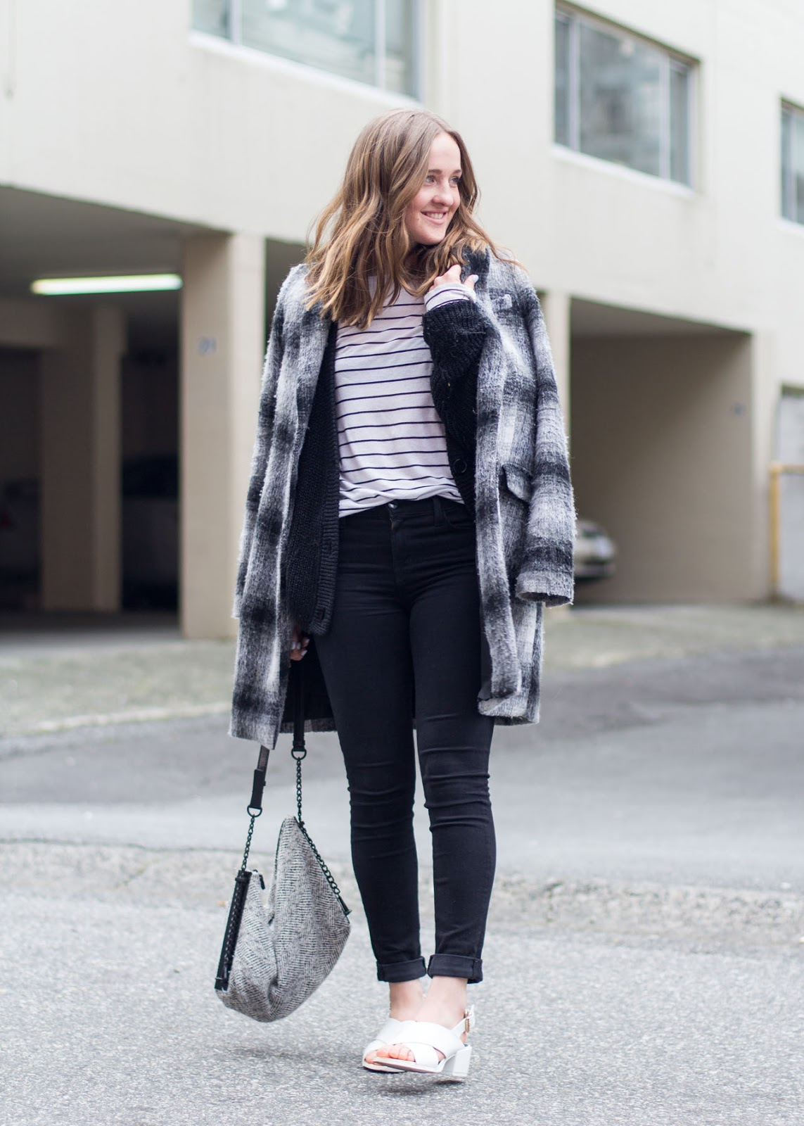 Classic staples outfit - Vancouver Fashion Blog