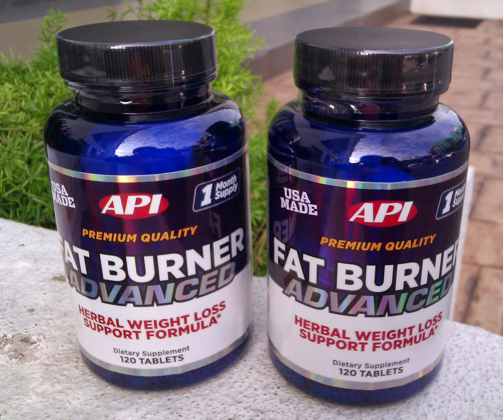 Burning fat pills
