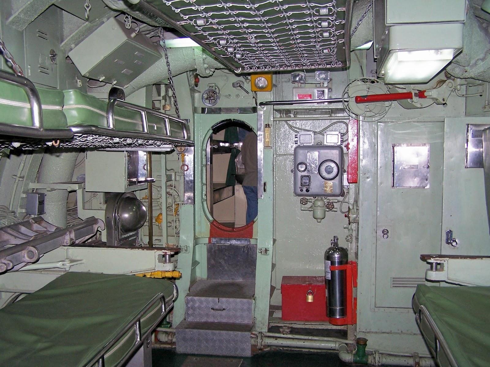 Sottomarino abtao lima meravigliosa il submarino del for Interno j