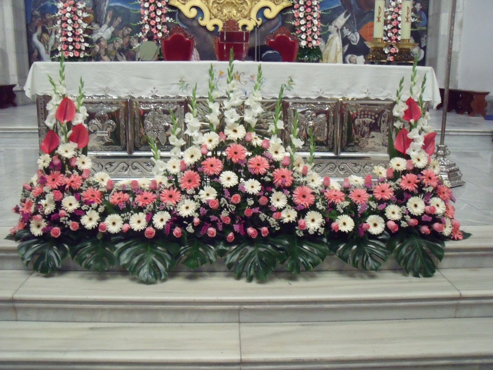 Floristeria leomami arreglos florales iglesias - Arreglos florales para bodas ...