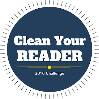 clean your reader, ebook challenge, ereader challenge, 2016 reading challenge