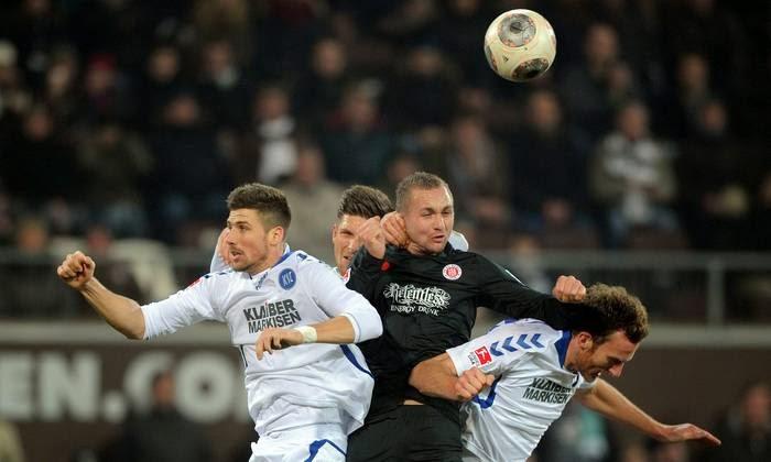 Imagens do jogo FC St Pauli x Karlsruher SC