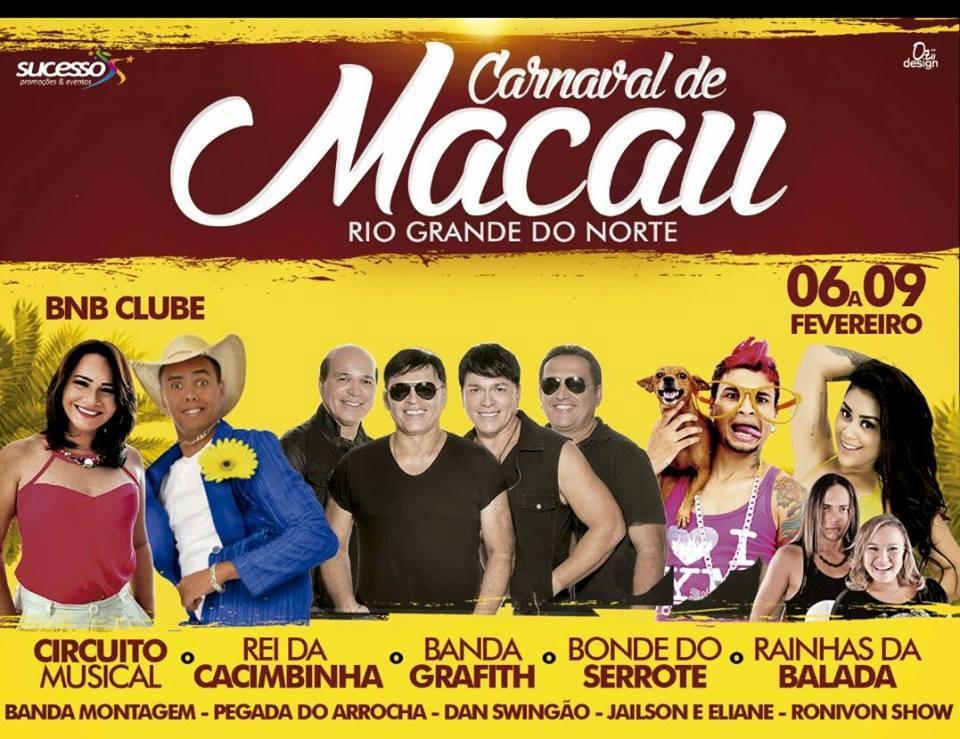 CARNAVAL DE MACAU 2016 - ARENA ¨BNB¨ - DE 06 Á 09-02-16