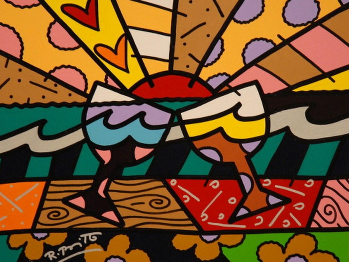 Pintura moderna y fotograf a art stica el pop art - Cuadros pop art comic ...